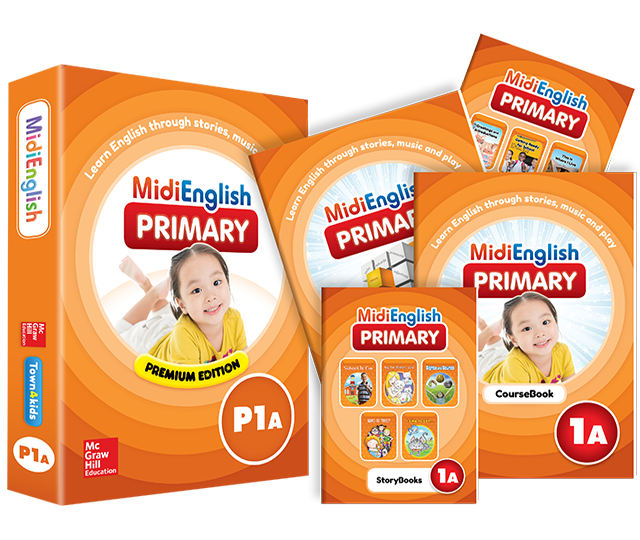 Student Pack | Primary | MidiEnglish